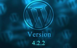 Έκδοση WordPress 4.2.2