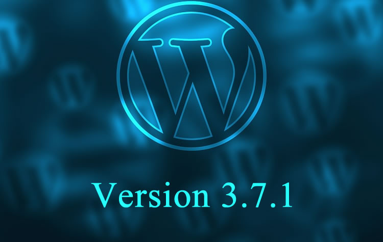 WordPress Version 3.7.1