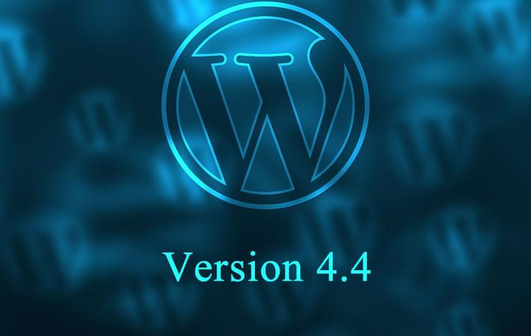 έκδοση WordPress 4.4