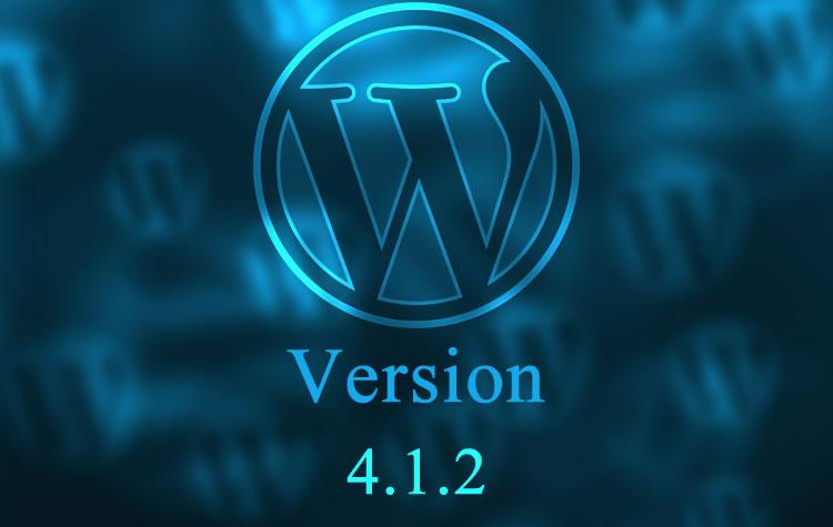 έκδοση wordpress 4.1.2