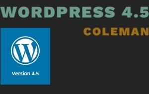 Έκδοση WordPress 4.5