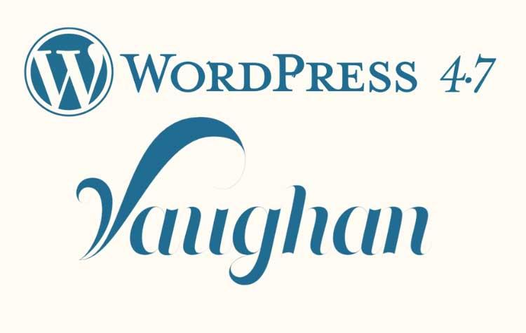 Έκδοση WordPress 4.7