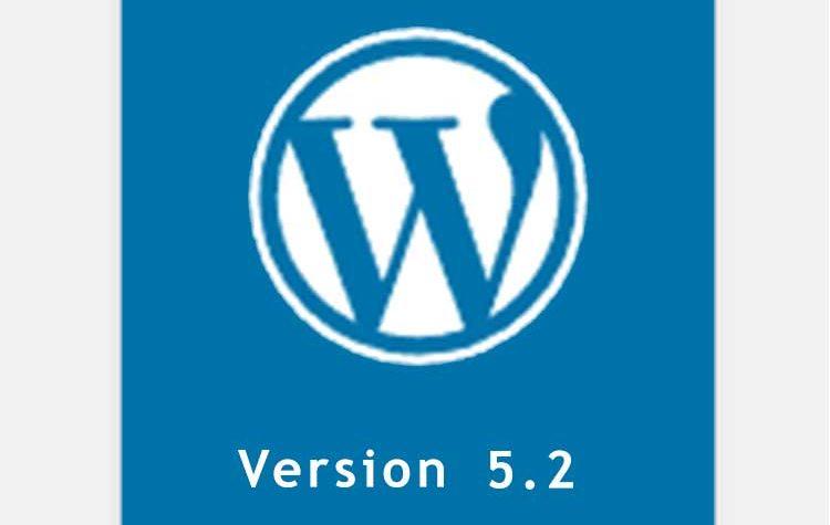 έκδοση wordpress 5.2