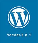 έκδοση wordpress 5 8 1
