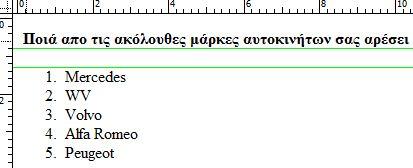 hmtl p tag - html ol tag